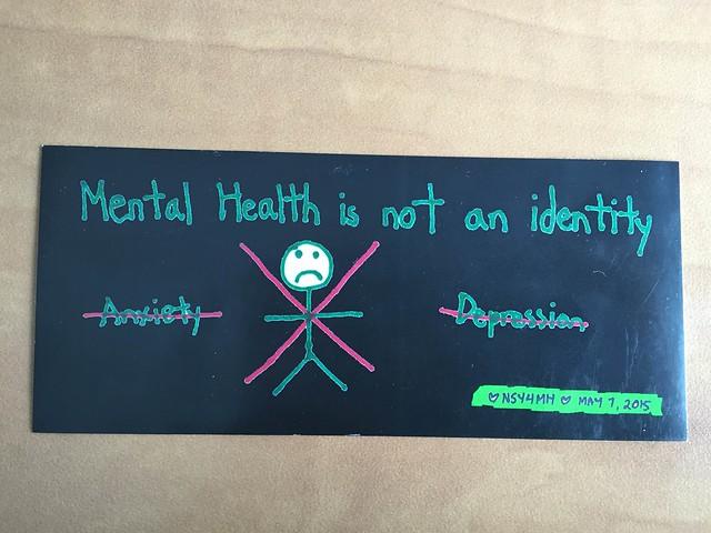 Mental health sticker graphic