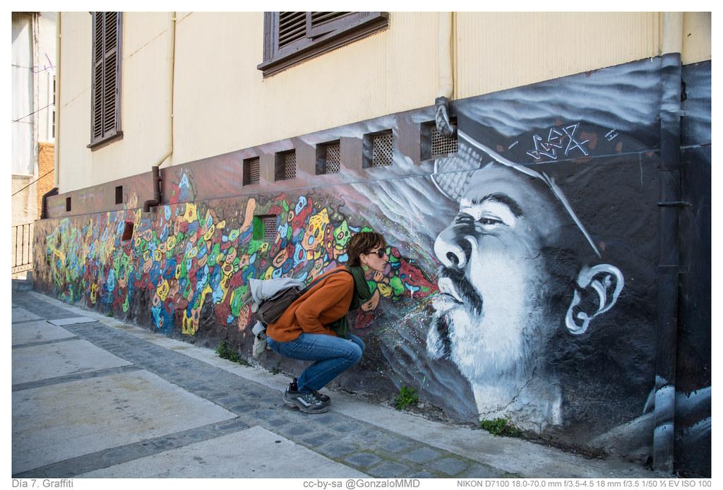 Día 7. Graffiti