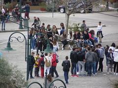 Μαθητές στην Ψίνθο την Τσικνομπέπτη Ψίνθος 2016