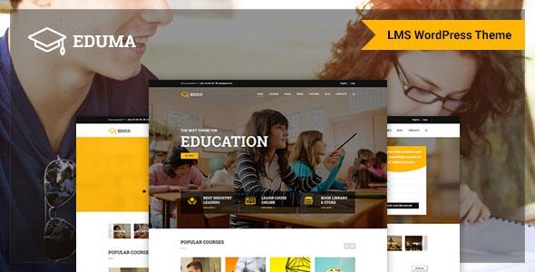 Themeforest Eduma v1.4 – Education WordPress Theme