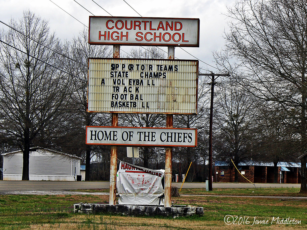 Courtland High School -- Courtland, Alabama