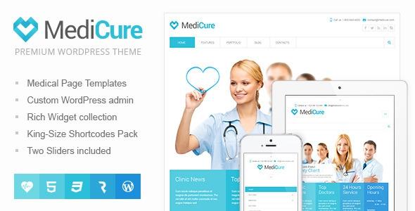 ThemeForest MediCure v1.4.1 Health & Medical Wordpress Theme