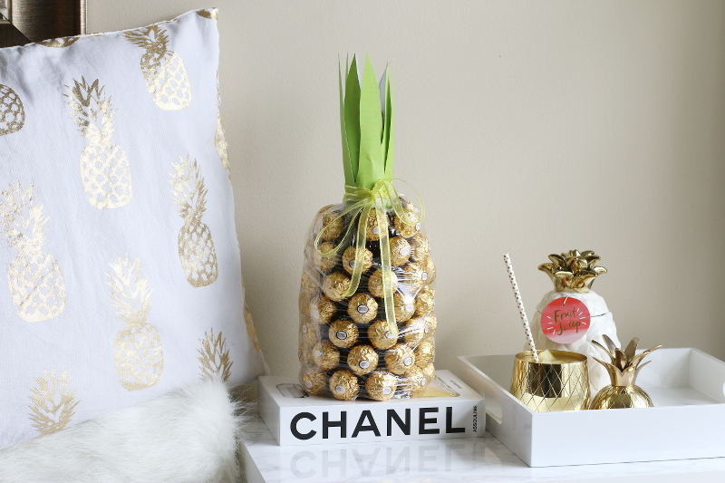 pineapple, chocolate, wine, decor, home design, pillow