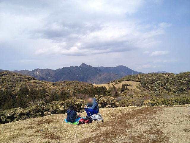入道ヶ岳 山頂から鎌ヶ岳