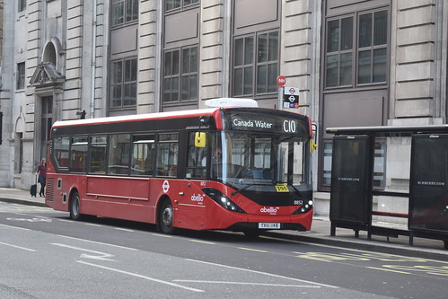 Abellio London 8852 on Route C10, Millbank