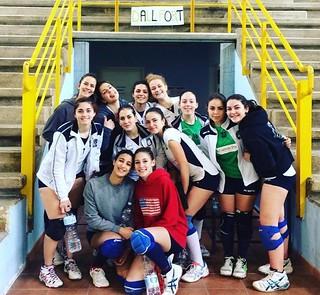 Le ragazze dello Sport Centre vittoriose a Sammichele- foto Facebook