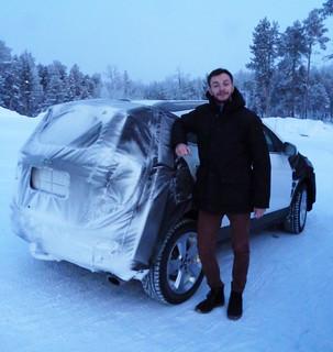 Mokka X-Wintertest am Polarkreis