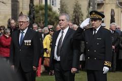 Souvenir à la mémoire des victimes de la guerre d'Algérie