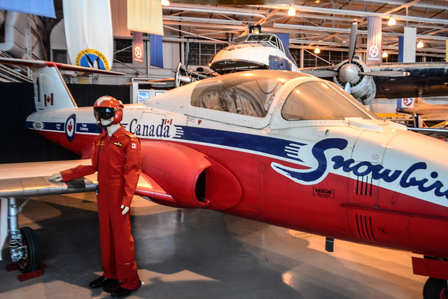 Visiting the Royal Aviation Museum of Western Canada