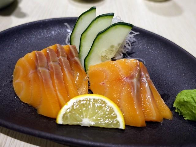 Oedo Japanese Restaurant- Salmon Sashimi P325