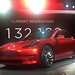 Candy Red Model 3 with the new nose by jurvetson