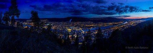 city sunset sky urban panorama tree nature norway night clouds forest woodland lights evening norge highresolution view citylife tranquility april scenics nightpicture quietness drammen tranquilscene 2016 ypsilon ptgui buskerud 180degree drammensmarka drammenselva tamron2470mm canon5dmarkiii