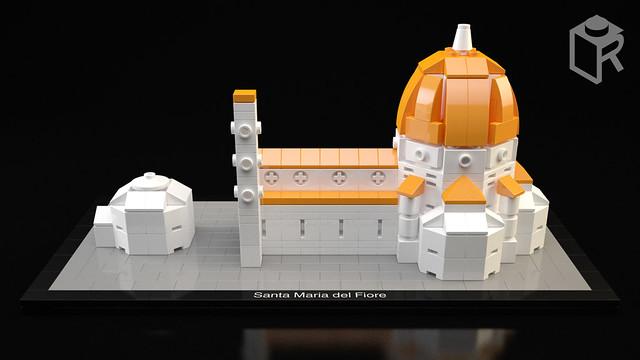 LEGO Architecture Basilique Santa Maria del Fiore (Florence)