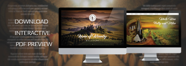 Interactive Winery Presentation
