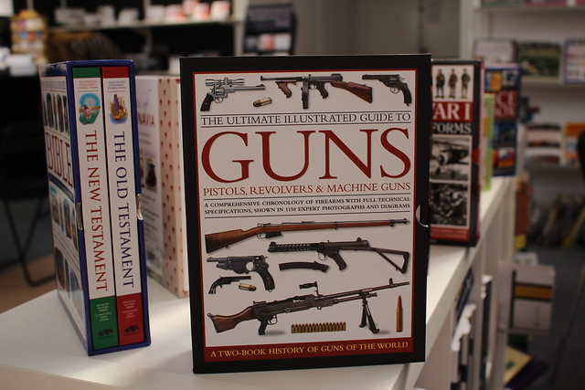 Illustrated Guide to Guns - London Book Fair 2016