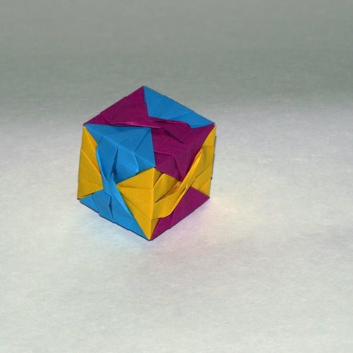 Furoshiki cube ( Miyuki Kawamura)