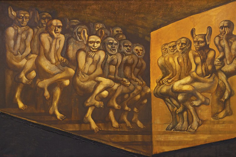 Jan Lebenstein - Contradicting Images, 1971