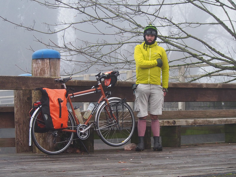Neil in Pain and Toasty Tangerine: After going down on black ice around the Ship Canal in Seatle, I just kept going at it since it didn't seem so bad.  A couple hours later, I couldn't start and stop without a ton of pain in my ribs, so I gave up and took the bus home.