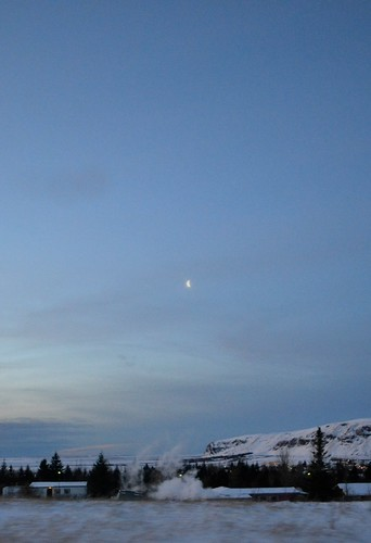 ...and daybreak with the setting moon, at 10:30am.