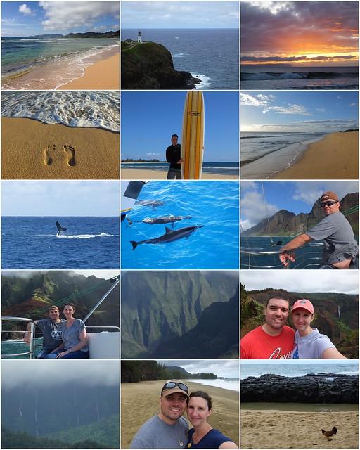 kauai collage