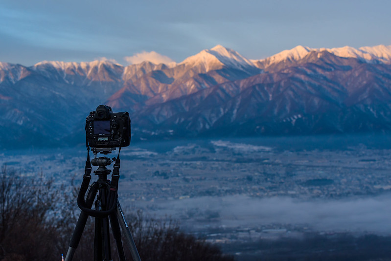 Mt.Jonen from Mt.Nagamine