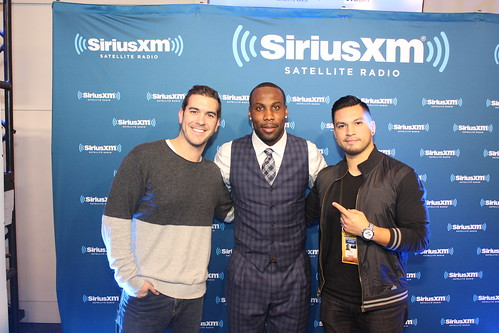 SF 49ers WR Anquan Boldin with Covino & Rich