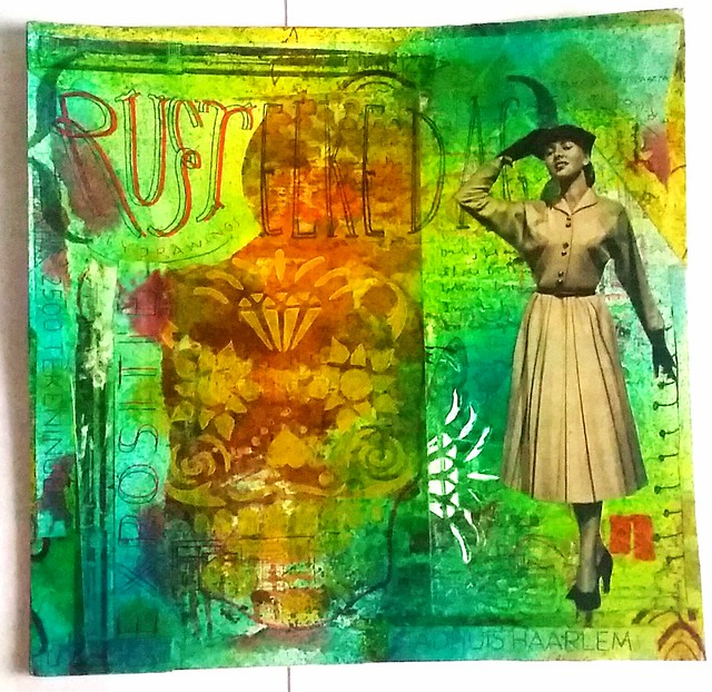 Mail Art 2016 - 003 Rust Elke Dag