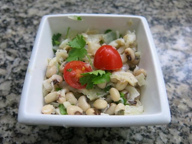 Salada de Bacalhau e Feijão Fradinho