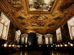 Interior, Scuola Grande di San Rocco, Venice