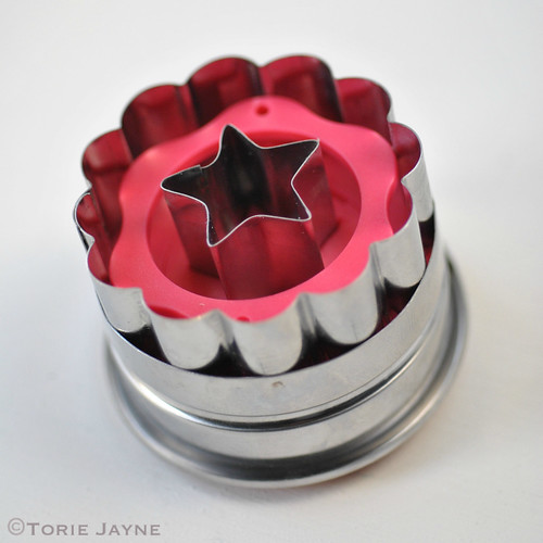 Tala Flower And Star Plunger Cutter