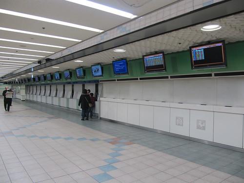 京都競馬場の投票所跡