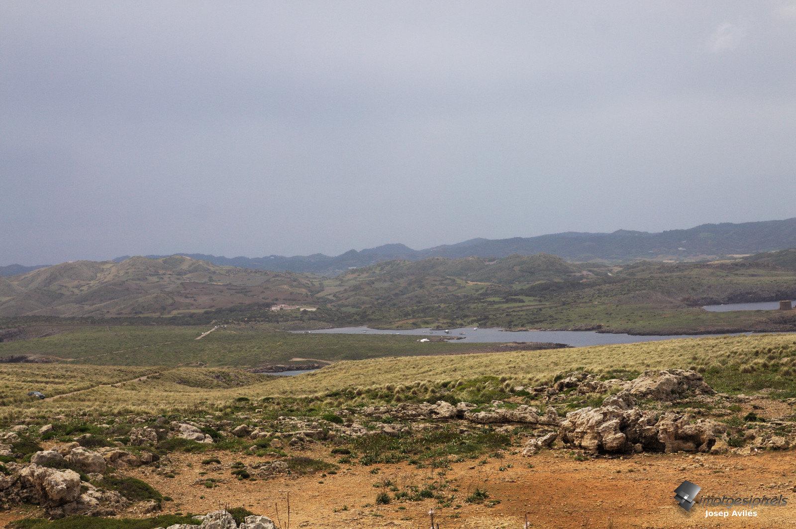 Vista des del Far de Cavalleria