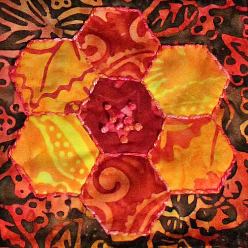 Sharons Gift - Orange Flower
