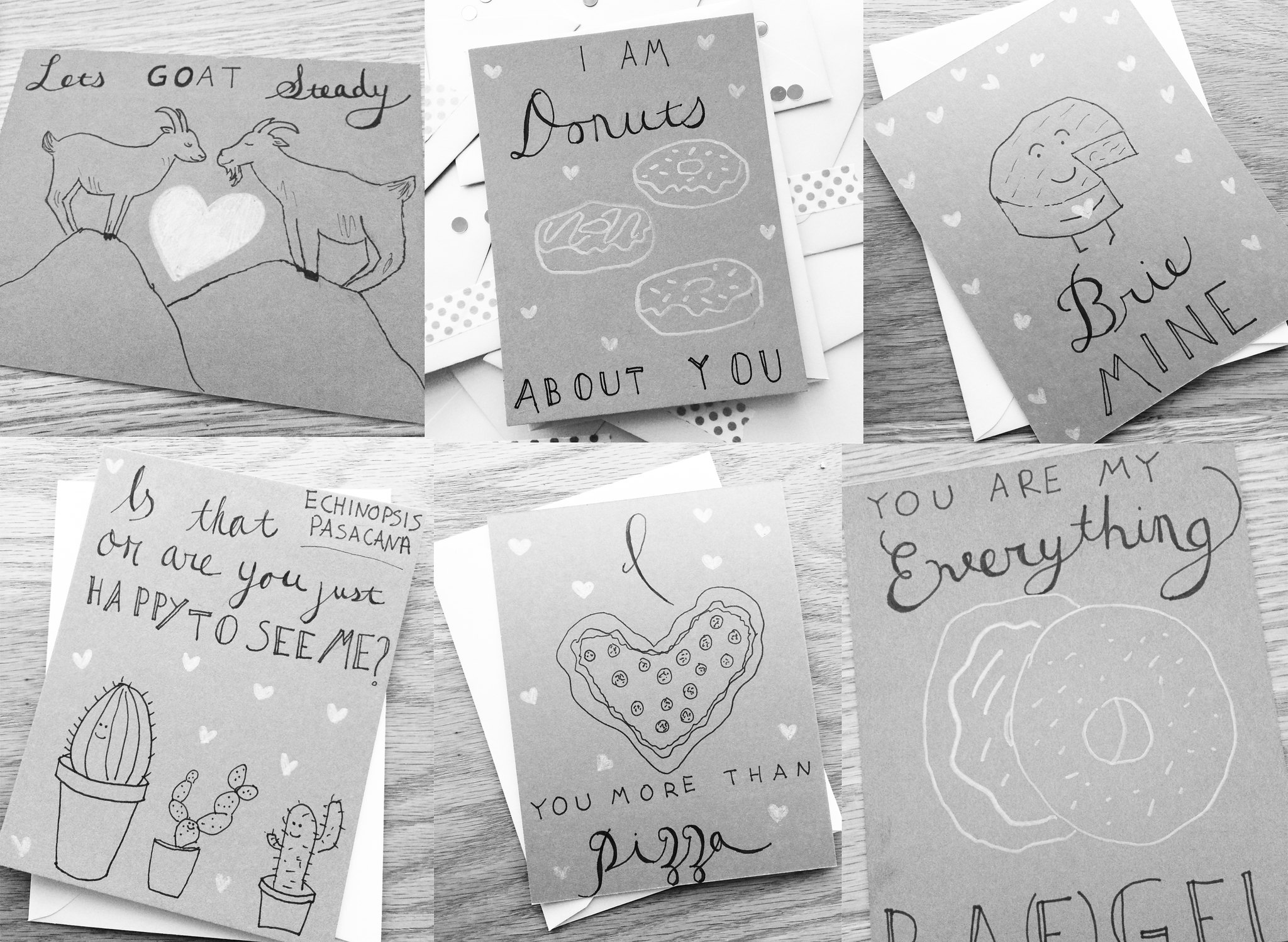 Handwritten Valentines For All Your Best Friends On juliettelaura.blogspot.com