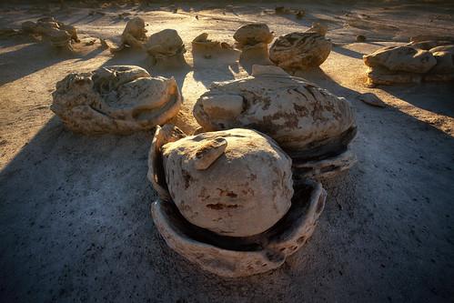 travel sunset newmexico nature rock stone landscape sandstone desert wind erosion formation explore badlands geology wilderness hdr highdynamicrange windblown hoodoos hatchery geological bistibadlands mudstone denazin