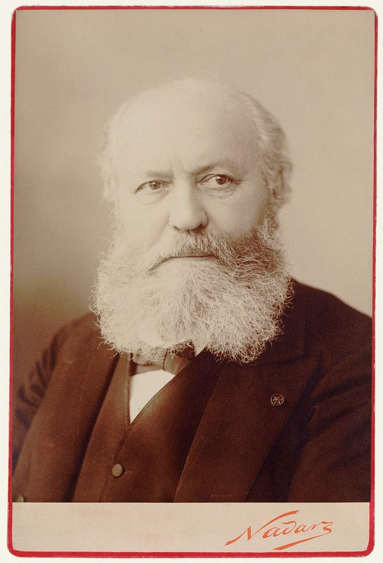 1890. Charles Gounod / d'après Nadar