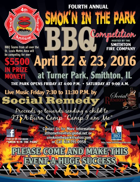 Smok'n In The Park 4-22, 4-23-16
