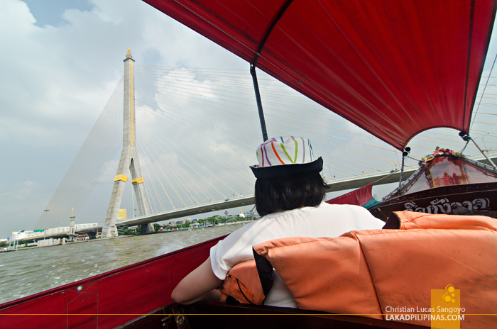 Chao Phraya River Tour Somdet Phra Pin-Klao Bridge