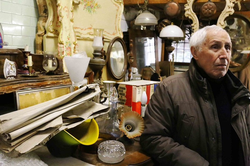 City Landmark -- Emilio Piacentini's Wood Carving Shop, Venice Ghetto