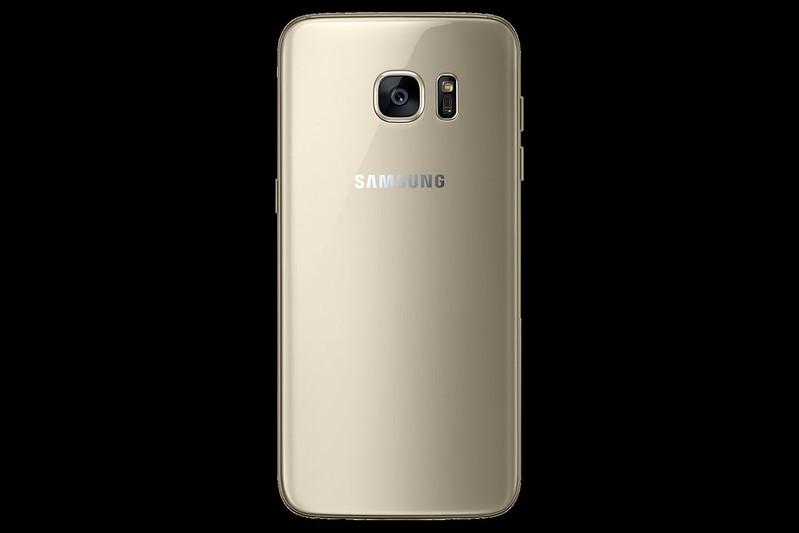 Samsung Galaxy S7 Edge - Gold Platinum - Back
