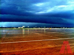 Kelly Air Field Wall Cloud - San Antonio, Texas
