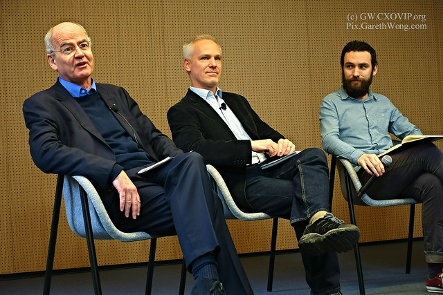 John Elkington Co-Founder & Executive Chairman, Volans, TONY GREENHAM Director of Economy, Enterprise and Manufacturing, RSA with James Temperton, acting deputy Editor Wired @jtemperton @TonyGreenham @volansjohn on panel RAW _DSC5115