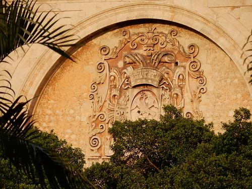 Merida - gevel kathedraal
