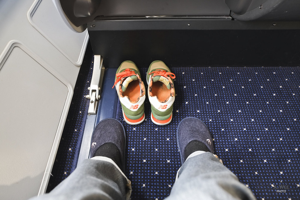 Slippers for passengers