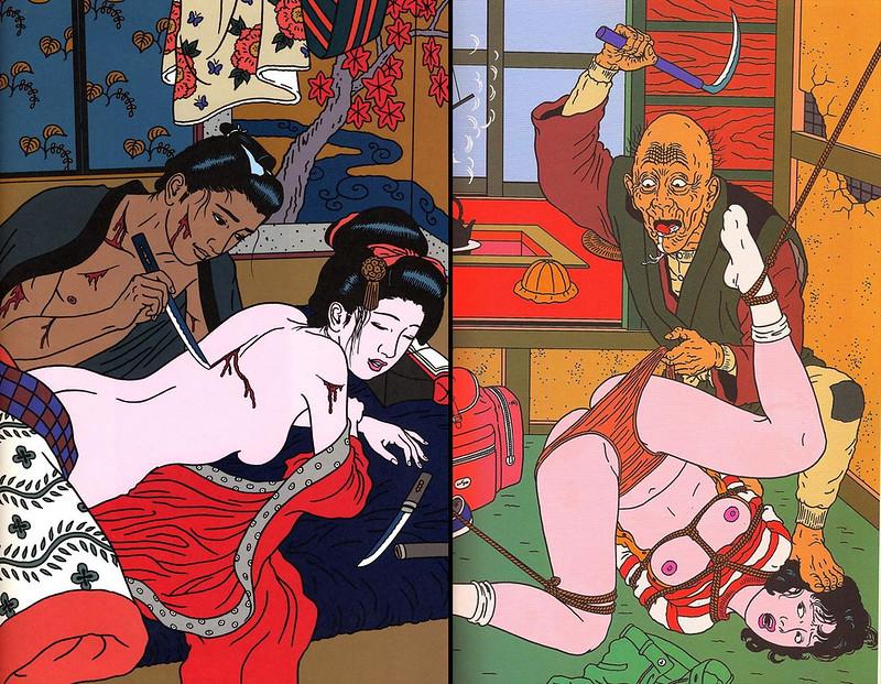 日本病態暴力美學教父 佐伯俊男Toshio Saeki 的情色烏托邦4