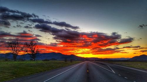 sunset beauty oregon sunsets southernoregon beautifulsky