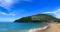 Trindade Beach Panorama in Paraty, Brazil