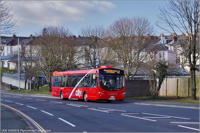 Plymouth Citybus 108 WA12ADU