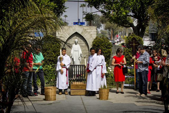 Palm Sunday at Our Lady of Perpetucal Help