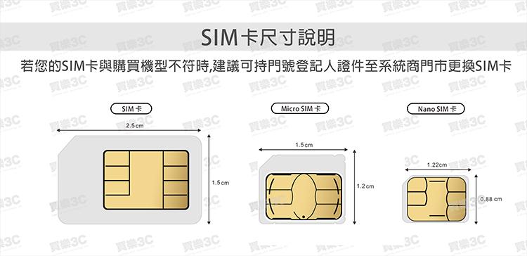 SIM卡尺寸說明
